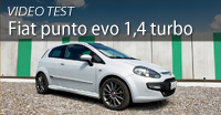Video test fiat punto evo