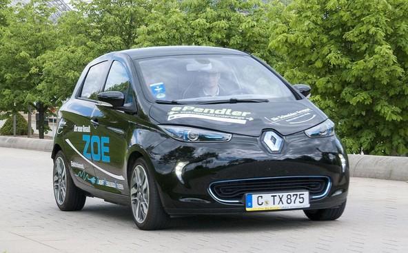 Renault obvladuje nemško tržišče električnih vozil