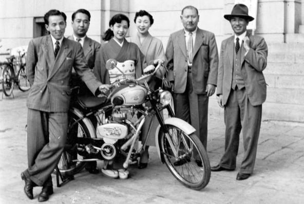 Suzuki Diamond Free (1953)