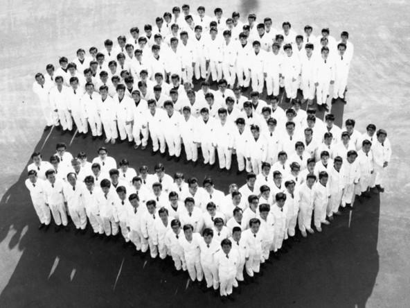 Leto 1958, rojstvo znanega S logotipa