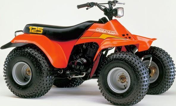 Prvi ATV znamke Suzuki (1982)