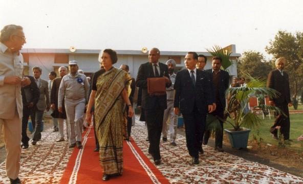Sprejem indijske delegacije
