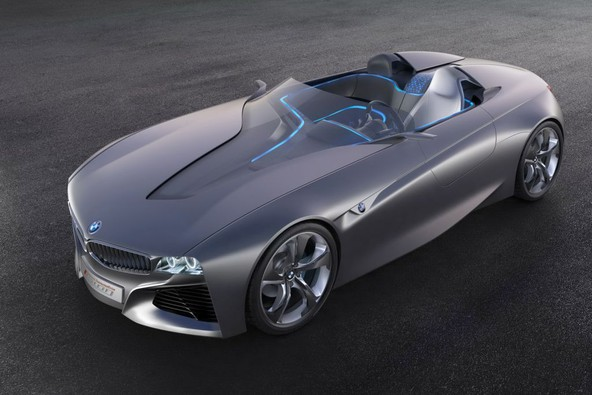 BMW Vision ConnectedDrive concept: Interakcijski roadster