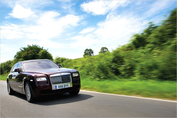 Rolls-Royce ghost EWB: 'Haute Couture'