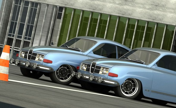 Saab 96 V8 SVO by Vizualtech: Supersaab