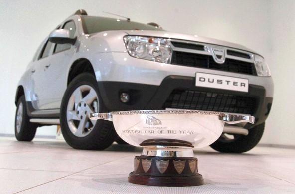 Tri pomembne nagrade za znamko Dacia