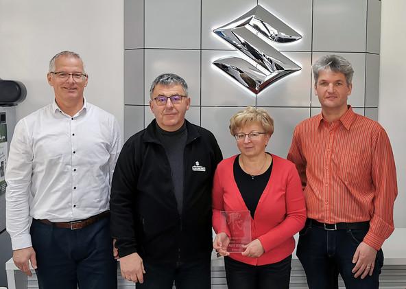 Suzuki Brand promise partner leta 2020