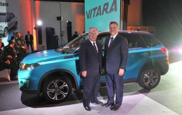Osamu Suzuki in Viktor Orbán