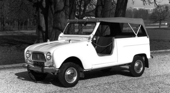 Renault 4 Plein Air 4x4 by Sinpar (1964)