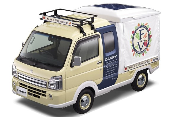 Suzuki Carry Open-Air Market Concept