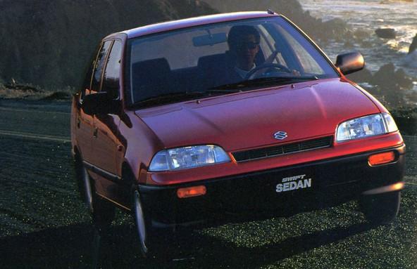 Suzuki Swift sedan (1991-1996)