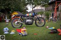 Custom  Honda CJ 250 - city scrambler (1979): 7seven customs predstavlja eno izmed zadnjih predelav