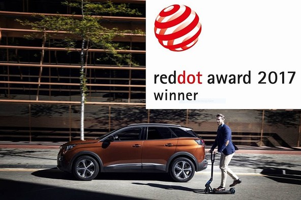 Red Dot Award: Product Design 2017: Dve nagradi za PEUGEOT