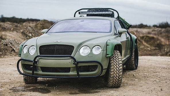 Bentley Continental GT by Monster Tuning: Continental GT v terenski izvedbi – prodan!