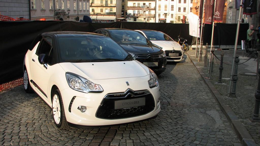 Citroën Slovenija: Ekskluzivni VIP sprejem modela DS3 Cabrio