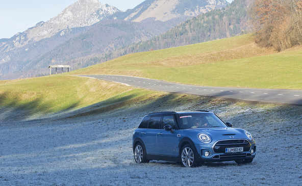 Mini clubman cooper SD all4: Posebnež med miniji