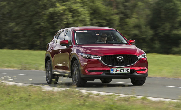 Mazda CX-5 CD 175 AT AWD revolution top: Narejena za vse čute