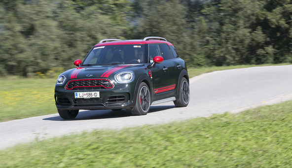 Mini countryman all4 JCW: Pujs!