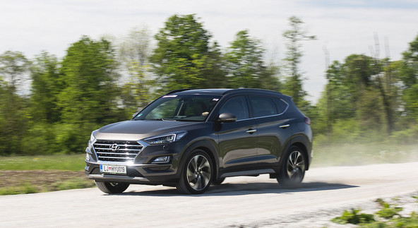 Hyundai tucson 2.0 CRDi HP 4WD impression: Od Arizone do Arizone