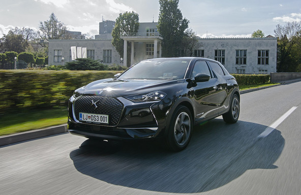 DS3 crossback 1.2 puretech grand chic: »Izstopač«