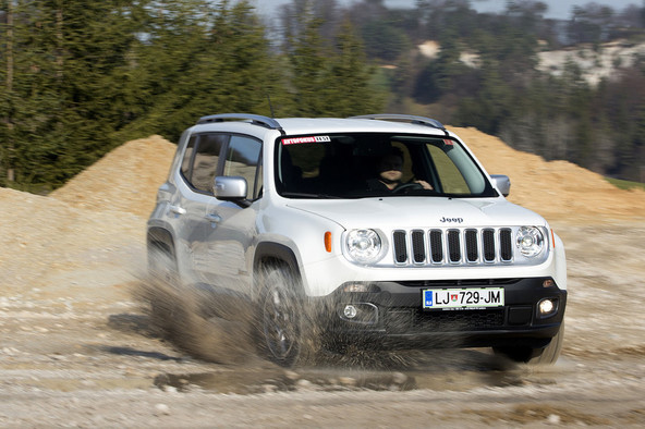 Jeep renegade 2.0 multijet 16v 140 AWD AUT limited: Pacek