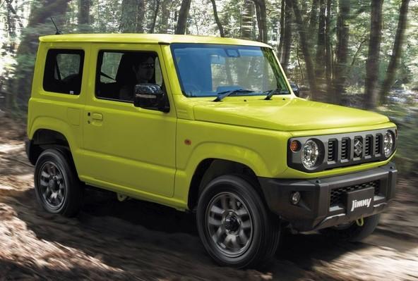 Suzuki Jimny v aktualni, zadnji generaciji