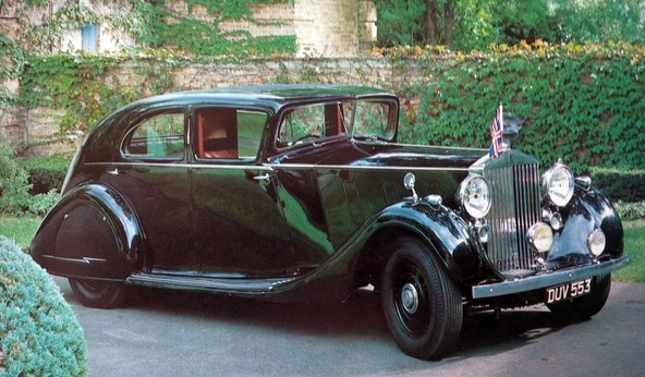 Rolls-Royce 'Butler Phantom' III by H. J. Mulliner & Co. - 1936