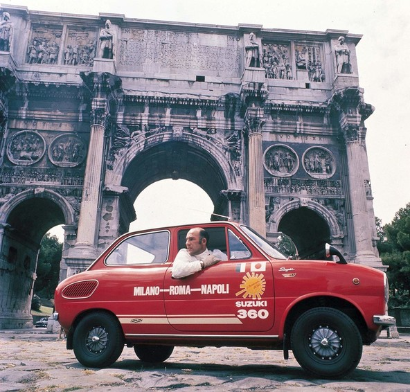 Obisk Rima leta 1968