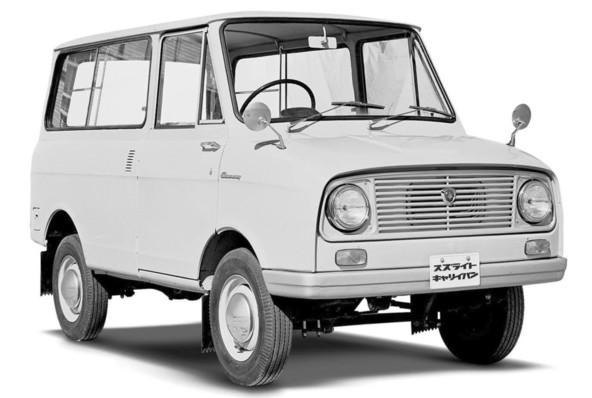 Suzulight Carry Van